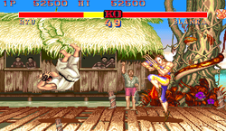 Arcade Game 1: Street Fighter II champion Edition Double ko turbo ii